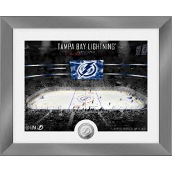 Tampa Bay Lightning Art Deco Silver Coin Photo Mint