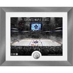Toronto Maple Leafs Art Deco Silver Coin Photo Mint