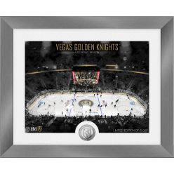 Vegas Golden Knights Art Deco Silver Coin Photo Mint