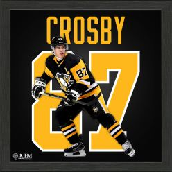 Sidney Crosby Impact Jersey Frame