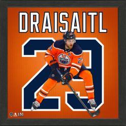 Leon Draisaitl Impact Jersey Frame