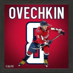 Alex Ovechkin Impact Jersey Frame