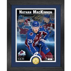 Nathan MacKinnon Signature Series Bronze Coin Photo Mint