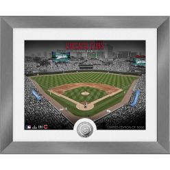 Chicago Cubs Art Deco Silver Coin Photo Mint