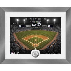 Chicago White Sox Art Deco Silver Coin Photo Mint