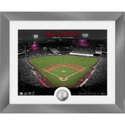 Los Angeles Angels Art Deco Silver Coin Photo Mint
