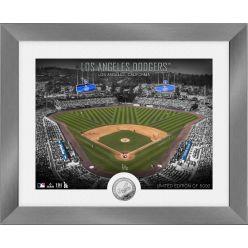 Los Angeles Dodgers Art Deco Silver Coin Photo Mint
