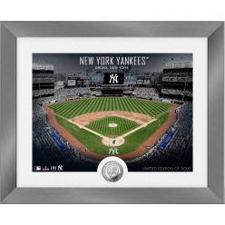 New York Yankees Art Deco Silver Coin Photo Mint