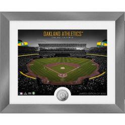 Oakland Athletics Art Deco Silver Coin Photo Mint