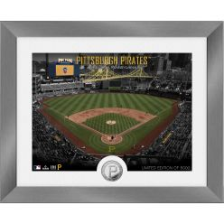 Pittsburgh Pirates Art Deco Silver Coin Photo Mint