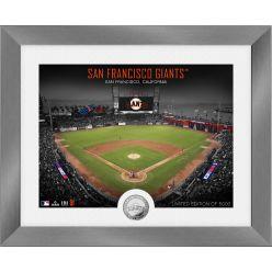 San Francisco Giants Art Deco Silver Coin Photo Mint