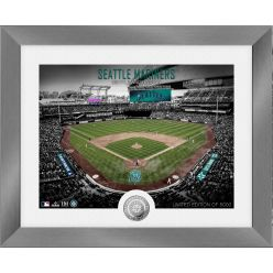 Seattle Mariners Art Deco Silver Coin Photo Mint