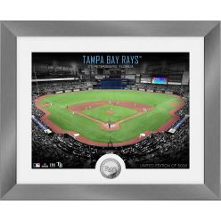Tampa Bay Rays Art Deco Silver Coin Photo Mint