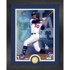 Mookie Betts  Los Angeles Dodgers Bronze Coin Photo Mint