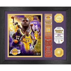 """Shaquille O'Neal  """"Hall of Fame"""" Banner Bronze Coin Photo Mint"""