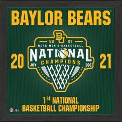 Baylor 2021 NCAA Men's Basketball Champions Pride Frame