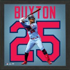 Byron Buxton Impact Jersey Frame