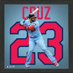 Nelson Cruz Impact Jersey Frame