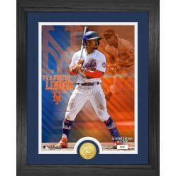 Francisco Lindor Bronze Coin Photo Mint