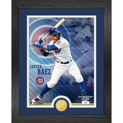 Javier Baez Bronze Coin Photo Mint