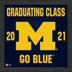 University of Michigan 2021 Graduation Pride Photo Mint