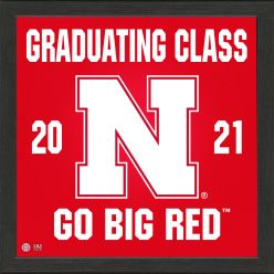 University of Nebraska 2021 Graduation Pride Photo Mint