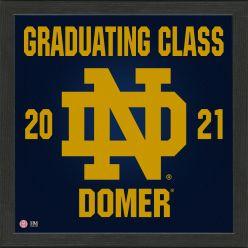 University of Notre Dame 2021 Graduation Pride Photo Mint