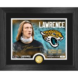 Trevor Lawrence Jacksonville Jaguars 2021 NFL Draft 1st Round Bronze Coin Photo Mint