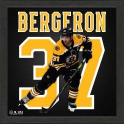 Patrice Bergeron Boston Bruins Impact Jersey Frame