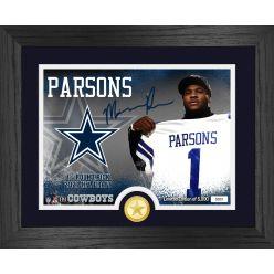 Micah Parsons Dallas Cowboys 2021 NFL Draft 1st Round Bronze Coin Photo Mint