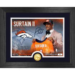 Patrick Surtain II Denver Broncos 2021 NFL Draft 1st Round Bronze Coin Photo Mint