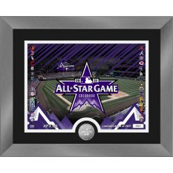 2021 MLB All Star Game Silver Coin Photo Mint