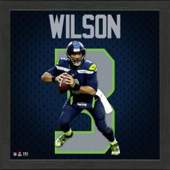 Russell Wilson Impact Jersey Frame