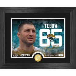 Tim Tebow Jacksonville Jaguars Bronze Coin Photo Mint