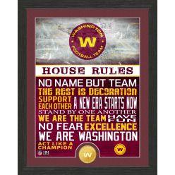 Washington Football Team House Rules Bronze Coin Photo Mint