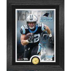 Christian McCaffrey Carolina Panthers Bronze Coin PhotoMint