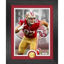 Nick Bosa San Francisco 49ers Bronze Coin Photo Mint