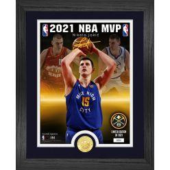 Nikola Jokic 2021 NBA MVP Bronze Coin Photo Mint
