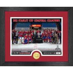 Montreal Canadiens 2021 NHL Semi Final Champions Silver Coin Photo Mint