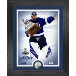 Andrei Vasilevsky Tampa Bay Lightning 2021 Stanley Cup Final MVP Silver Coin Photo Mint