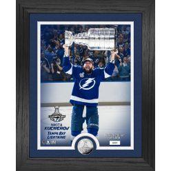 Nikita Kucherov Tampa Bay Lightning Stanley Cup Trophy Select Series Silver Coin Photo Mint