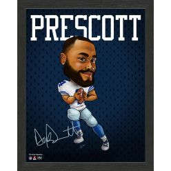 Dak Prescott Framed Pro Dynamo