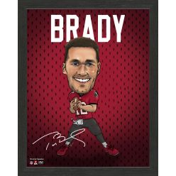 Tom Brady Framed Pro Dynamo