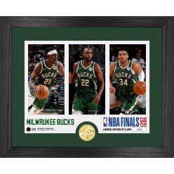 Milwaukee Bucks 2021 NBA Finals Team Force Bronze Coin Photo Mint