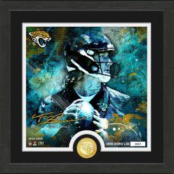 Trevor Lawrence Surge Bronze Coin Signature Photo Mint