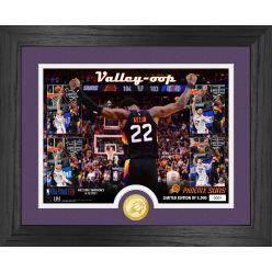 Deandre Ayton Phoenix Suns Valley oop Bronze Coin Photo Mint