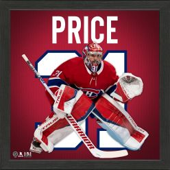 Carey Price Montreal Canadiens Impact Jersey Frame
