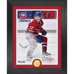 Cole Caufield Montreal Canadiens Bronze Coin Photo Mint