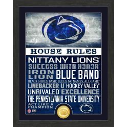 Penn State University Nittany Lions House Rules Mint Coin Photo Mint