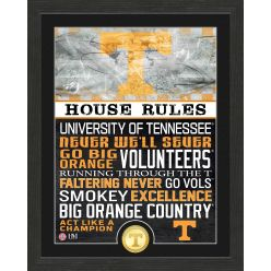 University of Tennessee Volunteers House Rules Bronze Coin Photo Mint